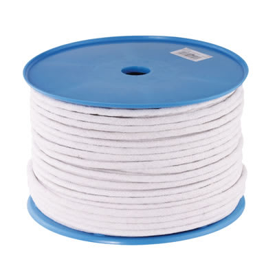 Waxed Cotton Sash Cord - 8mm - 100 metre Coil