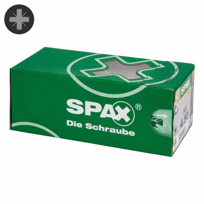 Spax Value Pack - 4.0 x 50mm - Pack 500