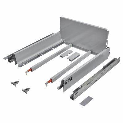 Blum TANDEMBOX ANTARO Pan Drawer - BLUMOTION Soft Close - (H) 203mm x (D) 450mm x (W) 500mm - Grey