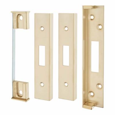 A-Spec Architectural Rebate Kit for Deadlock - PVD Brass