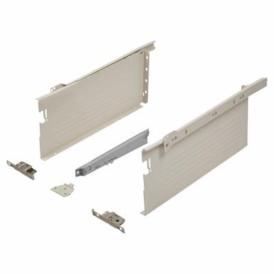 Blum METABOX BLUMOTION Soft Close Drawer Pack - Single Extension - 150mm (H) x 400mm (D) - 30kg