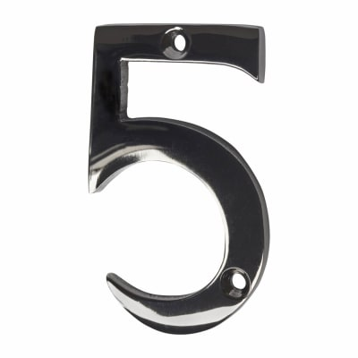 Screw Fixed Number - 5 - Black Nickel