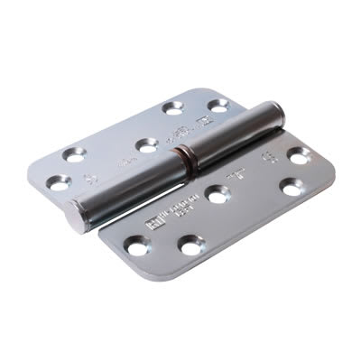 Royde & Tucker (H101) Hi-Load Lift-Off Hinge - 100 x 88 x 3mm - Left Hand - Zinc Plated - Pair