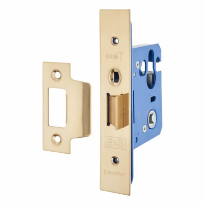 A-Spec Architectural Mortice Nightlatch - 68mm Case - 48mm Backset - PVD Brass