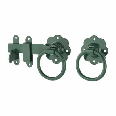 Ring Gate Latch - 152mm - Green