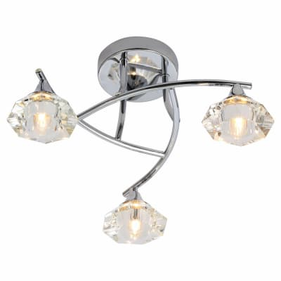 Forum Spa Reena 3 Light Bathroom Fitting - Chrome