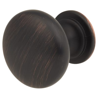 Cabinet Knob - Domed - 30mm Diameter - Brushed Oil Rubbed Bronze