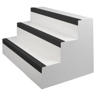 EdgeGrip Nosing - 3000 x 70 x 30mm - Black