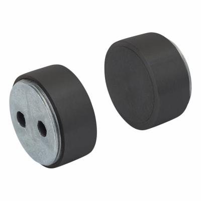 Magnetic Door Holder - 12.5 x 30mm - Black