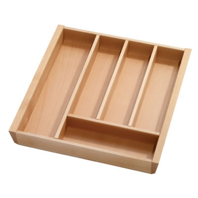 Cutlery Tray to Suit Tandembox - 500 x 450mm - Beech