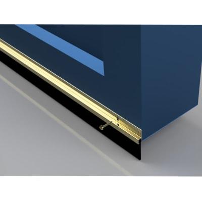 Garage Door Seal 50mm - 914mm - Gold