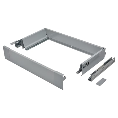 Blum TANDEMBOX ANTARO Internal Drawer - BLUMOTION - (H) 84mm x (D) 270mm x (W) 600mm - Grey