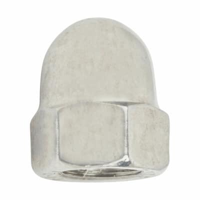 TIMco Hex Domed Nut - M6 - A2 Stainless Steel - Pack 10