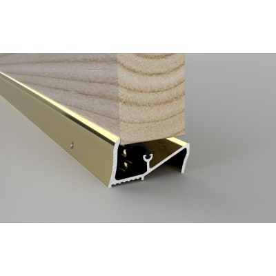 Stormguard Lowline Threshold - 2000mm - Gold