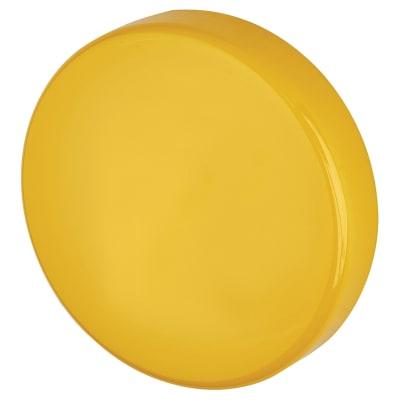 Hoppe Paris Coloured Nylon Blank Escutcheon - 52 x 9mm - Golden Yellow