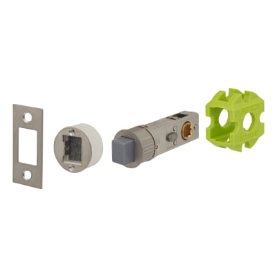 Jigtech Smartlatch Privacy Latch - Magnetic - 57mm Backset - Satin Nickel