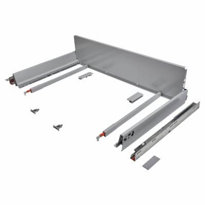 Blum TANDEMBOX ANTARO Pan Drawer - BLUMOTION Soft Close - (H) 203mm x (D) 500mm x (W) 1200mm - Grey