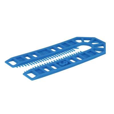 Horseshoe Packer - 101 x 43 x 3mm - Blue - Pack 200
