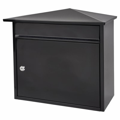 Mersey Mailbox - 359 x 349 x 206mm - Black