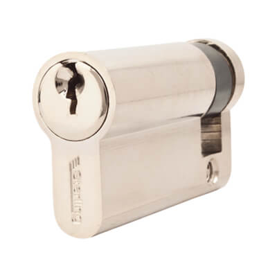 5 Pin Cylinder - Euro Single - 56mm - Nickel