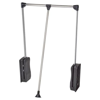 Double Pull Down Wardrobe Lift - 450-600mm