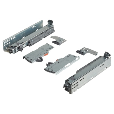 Blum TIP-ON (Touch to Open) BLUMOTION (Soft Close) Drawer Runner - 20kg - Full Extension - 270mm