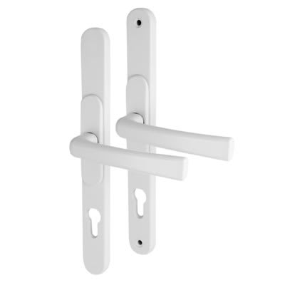 Adjustable Multipoint Lock Handle - uPVC/Timber - 59-96mm centres - White