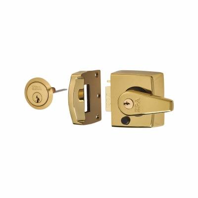 ERA® Double Locking Nightlatch - 40mm Backset - Brass