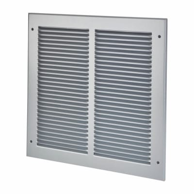 Lorient Vent Cover Grille - 295 x 295mm to suit transfer vent 250 x 250mm - Silver
