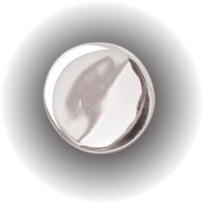 Mirror Screw Threaded Cap - Flat - 15mm - Chrome