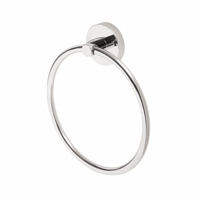Croydex Romsey Towel Ring - 162mm - Polished Chrome