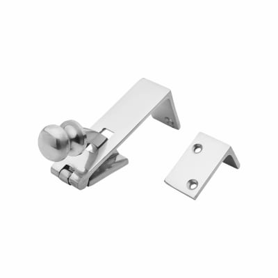 Counter Flap Catch - 84 x 22.5mm - Polished Chrome