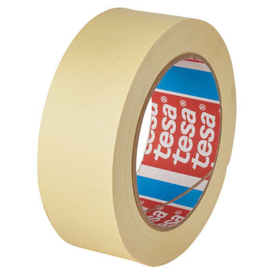 Tesa 4323 General Purpose Paper Masking Tape - 50mm x 50m