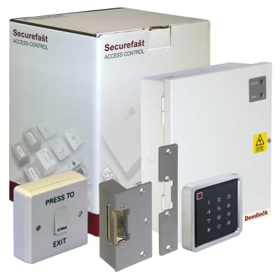 Standalone Access Control Kit - With Keypad and Electric Strike