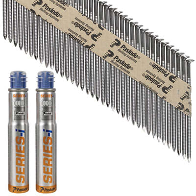 Paslode IM90I Nail - First Fix - 90 x 3.1mm - Bright - Pack 2200