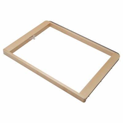 elfa® Pull Out Basket Frame - 600 x 437 x 32mm - Birch