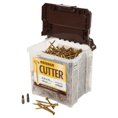 Reisser Cutter Tub - 4.0 x 70mm - Pack 650