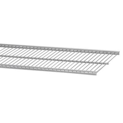 elfa® Ventilated Shelf - 607 x 405mm - Platinum