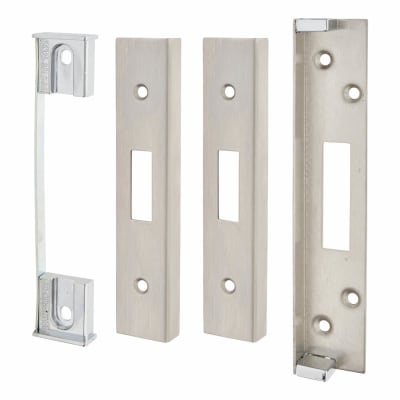 A-Spec Architectural Rebate Kit for Deadlock - Satin Stainless