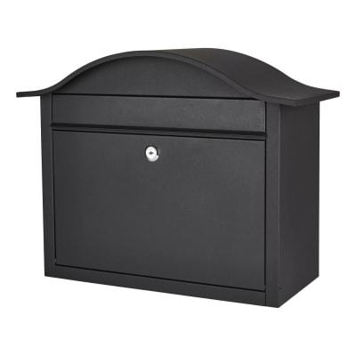 Dublin Letter Box - 340 x 435 x 180mm - Black