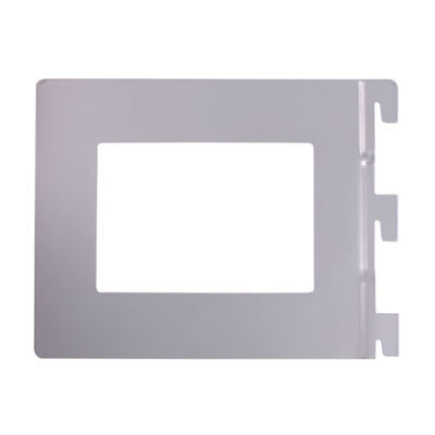 Aspect Book End - 142 x 118mm - Silver