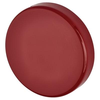Hoppe Paris Coloured Nylon Blank Escutcheon - 52 x 9mm - Rouge Red