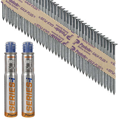 Paslode IM90I Nail - First Fix - 75 x 3.1mm - Galv Plus - Pack 2200