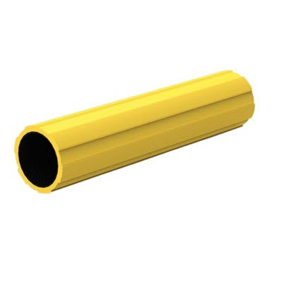 45mm FibreRail Tube - 890mm - Yellow