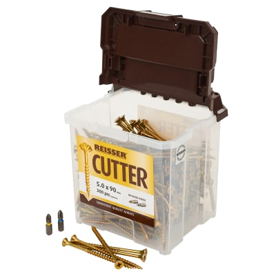 Reisser Cutter Tub - 5.0 x 90mm - Pack 300