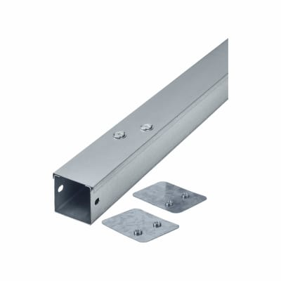 Steel Trunking - 150mm x 150mm x 3m - Galvanised