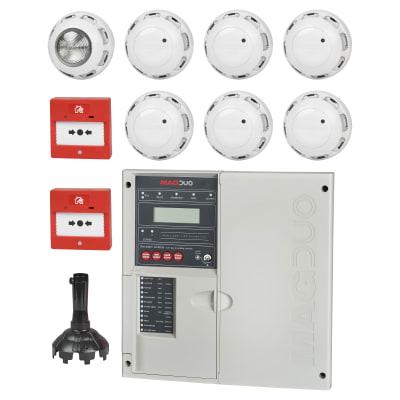 ESP 2 Zone 2 Wire Fire Panel Kit - White