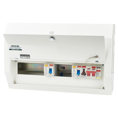Contactum 10 Way 100A High Integrity Consumer Unit with SPD - 63A RCD