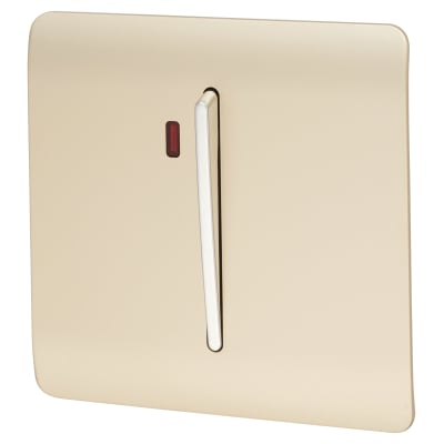 Trendi 45A Neon Insert Cooker Switch - Gold