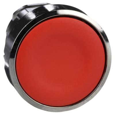 Schneider XB4 Series Flush Push Button Head - Red